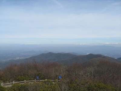 View from Brasstown Bald. Photo by wiki.
