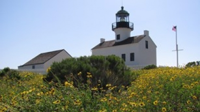 Old Point Loma Lighthouse. Photo by NPS.