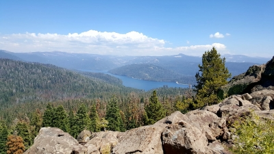 Huntington Lake from Black Point. Photo by Duane Ruth-Heffelbower.