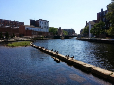 Lowell Canals. Photo by Bernie Ongewe.