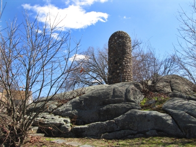 Abigail Adams Cairn, Quincy, Mass. Photo by Valerie A. Russo.