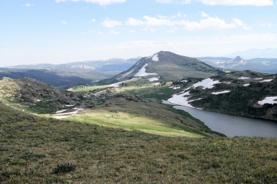 Beartooth Loop - view from near the trailhead on the Beartooth Highway - 7-19-18. Photo by Jim Walla.