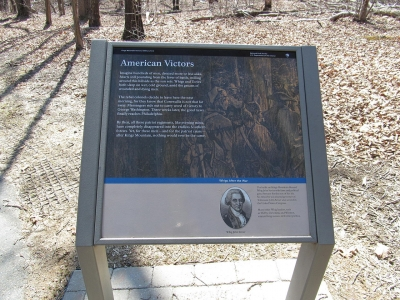 Interpretive display at Kings Mountain National Military Park. Photo by Doug Kerr/wiki.