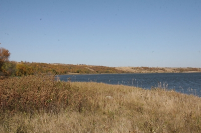 Des Lacs in the Fall. Photo by USFWS Mountain-Prairie wiki.