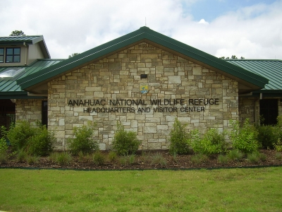 Anahuac National Wildlife Refuge headquarters. Photo by WhisperToMe.