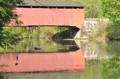 McGees Mills Covered Bridge. Photo by Sherri Clukey.