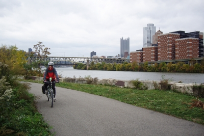 Downtown from Southside Trail. Photo by Mary Shaw.