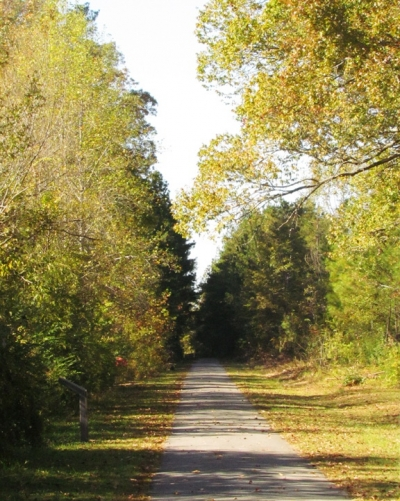 Chief Ladiga Trail in Piedmont, Alabama. Photo by John H. Morgan, III.