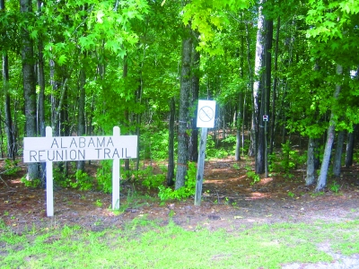 Alabama Reunion Trail.