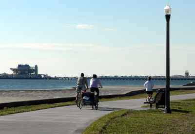 North Bay Trail along St. Petersburg's waterfront