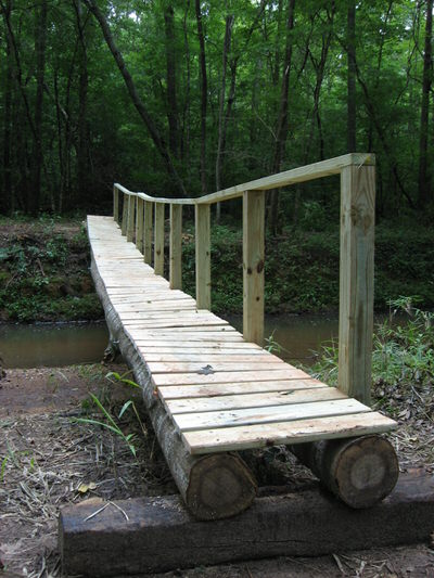 Footbridge over Coon Creek