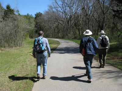 Dry Creek Greenway toward Land Trust trails