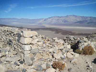 #9 Panamint Valley view from Lookout city ruins.