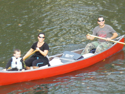 Photo from a Kankakee River paddling event
