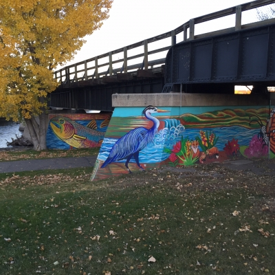 Trailside murals. Photo by Steffen Janikula.