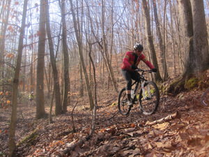 32 Miles of trails for mountain biking