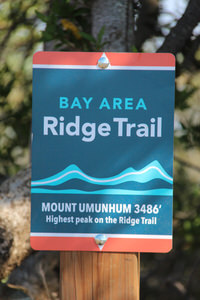 Bay Area Ridge Trail Sign
