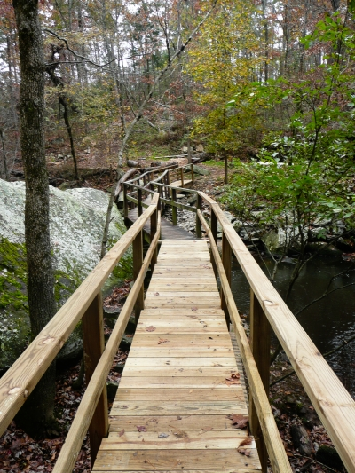 Bridge over Cedar Creek on Cedar Creek Trail. Photo by Bryan Hodges.