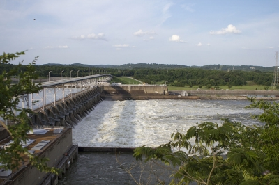 Watts Bar Dam. Photo by TVA.