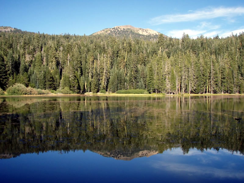 photo: Heart Lake in Lassen National Forest. Photo by USDA Forest Service.