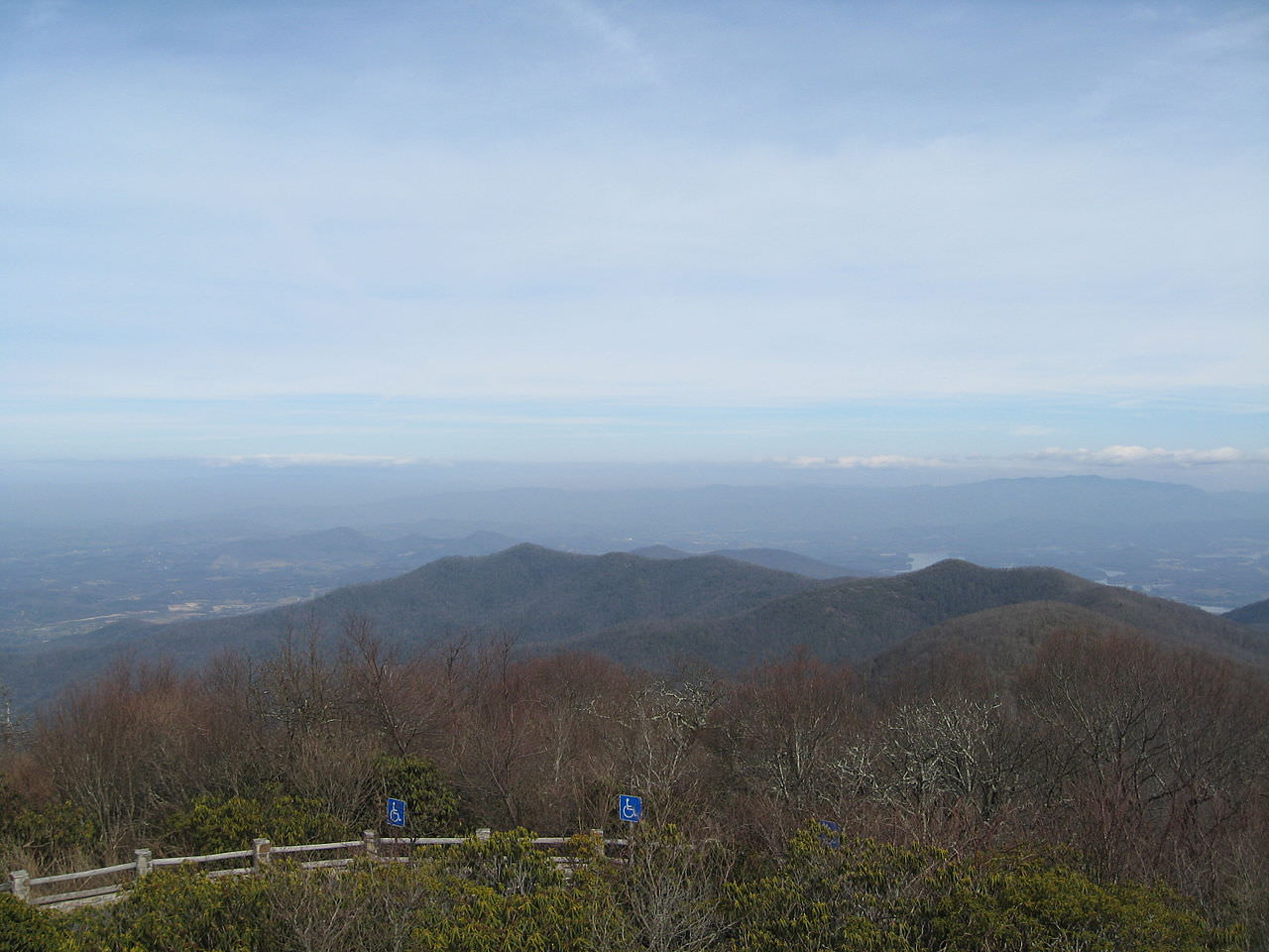 photo: View from Brasstown Bald. Photo by wiki.