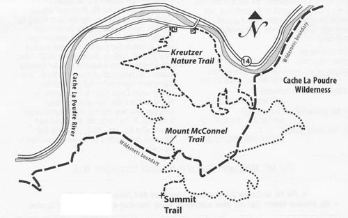 mount mcconnel   national recreation trail database