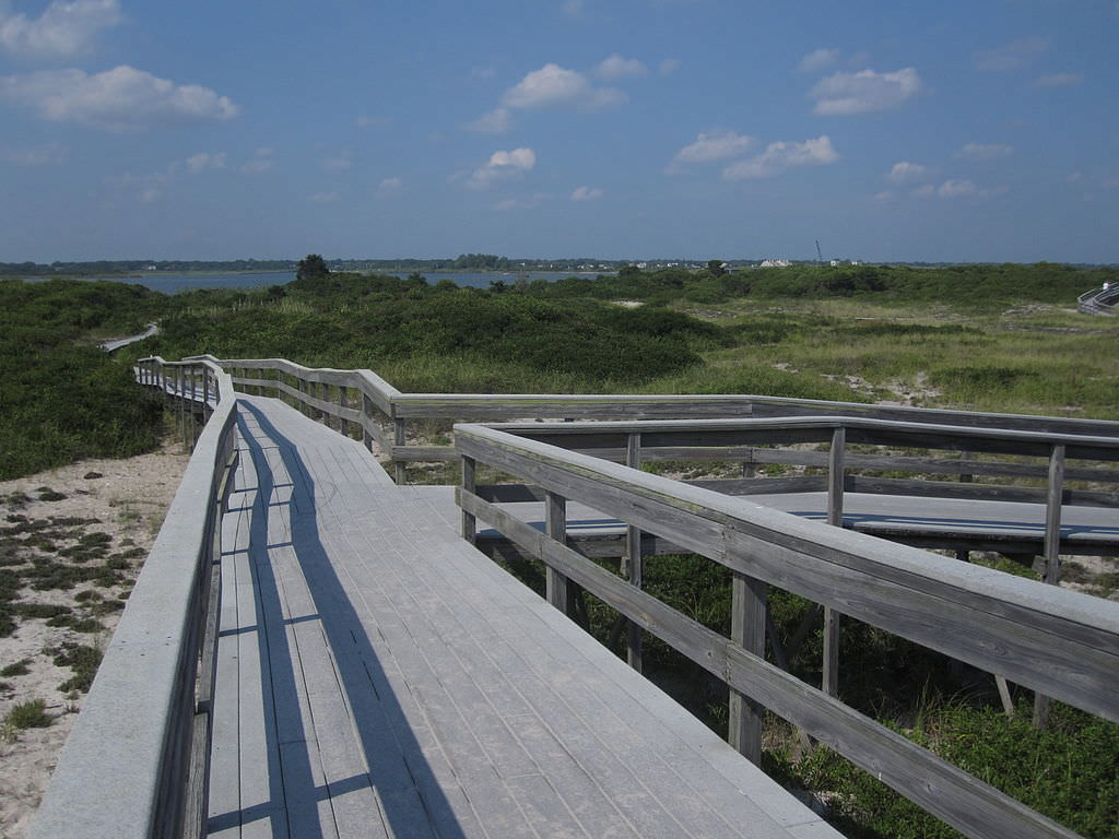 photo: Fire Island Wilderness Path. Photo by Stevan.