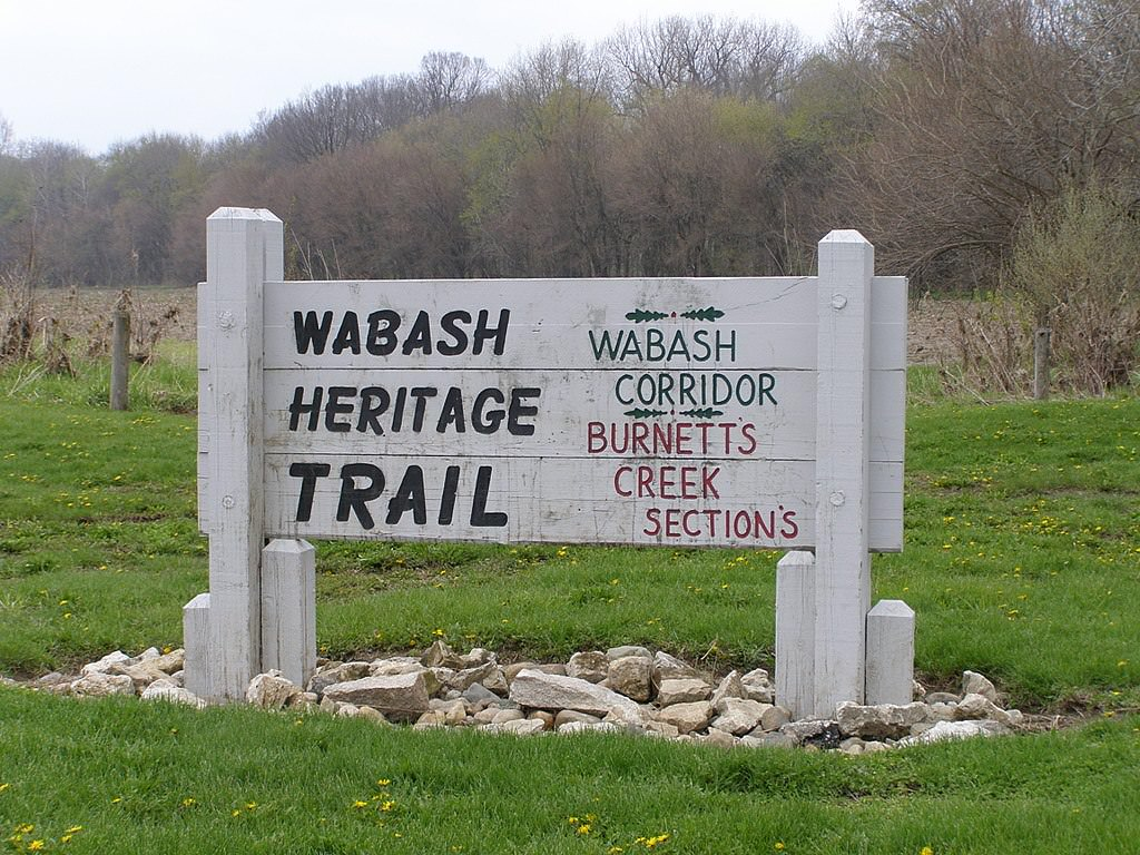 photo: Wabash Heritage Trail access at Davis Ferry Park, north of Lafayette, Indiana. Photo by Chris Light.