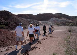 photo: HIKING THROUGH THE VOLCANIC ASH FLOWS