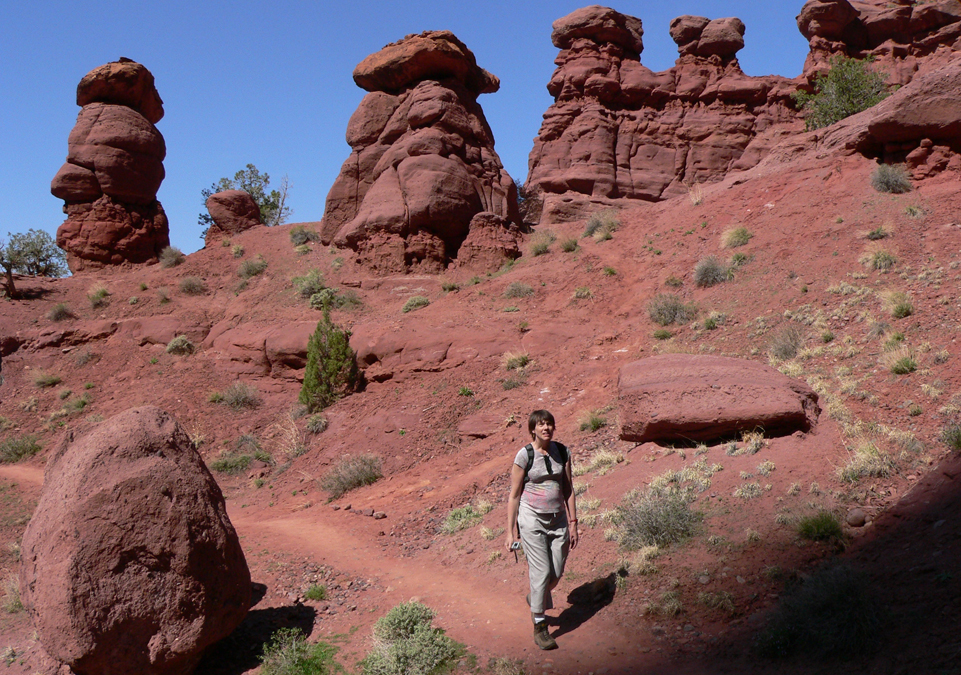 Scenic Hwy 128 & Fisher Towers Trail - (Moab, UT) - RV