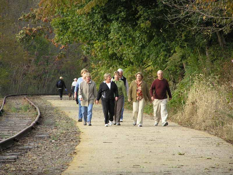 photo: Photo by Carl R. Knoch, York County Rail Trail Authority