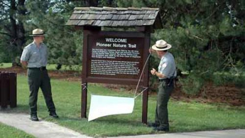 photo: BUFFALO WALLOW LOOP DEDICATION ON NATIONAL TRAILS DAY, 2006