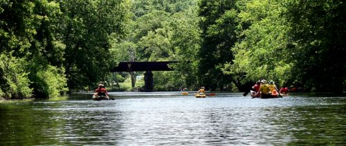 photo: Paddling the Willimantic River Water Trail