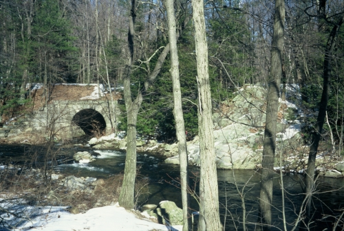 photo: Beaver Brook Bridge, now part of rail trail