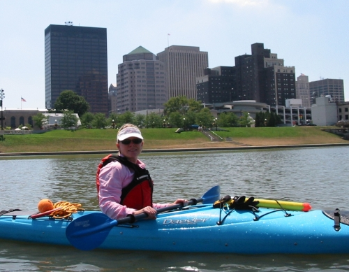 photo: Great Miami River Water Trail in Downtown Dayton