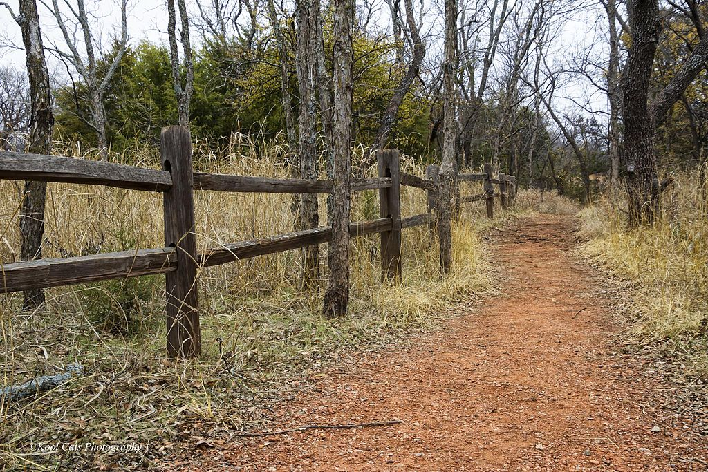 photo: Trail in Martin Park Nature Center, Oklahoma City, OK. Photo by Kool Casts Photography.