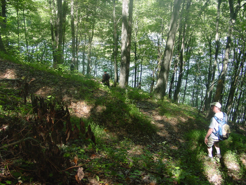 photo: Wilderness Trail at Cordell Hull Lake. Photo by Kelly Stewart.