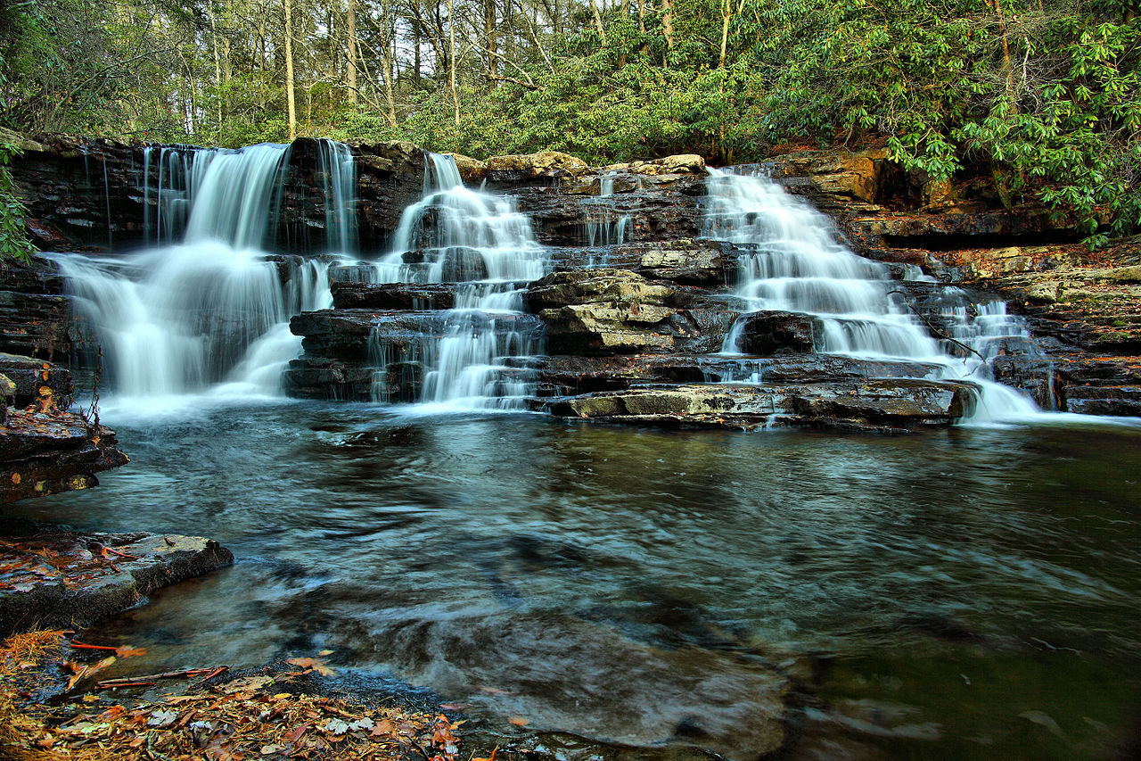 photo: Upper Cascades. Photo by ForestWander/wiki.